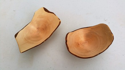 Rhododendron natural edge bowl